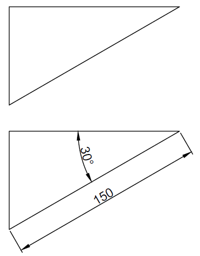 Drawing Lines With Angles In Autocad : Autocad tutorial angles and lines in