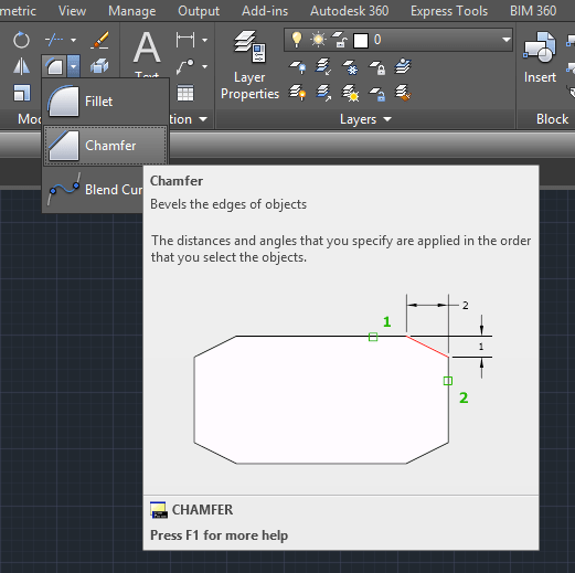 autocad tutorial 16 chamfer and fillet in autocad rh tutorial45 com AutoCAD 2016 Logo AutoCAD LT Manual