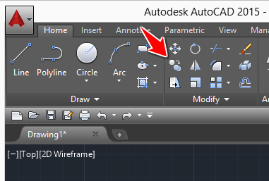 Autocad tutorial 12 move and copy objects in autocad for Copy cad