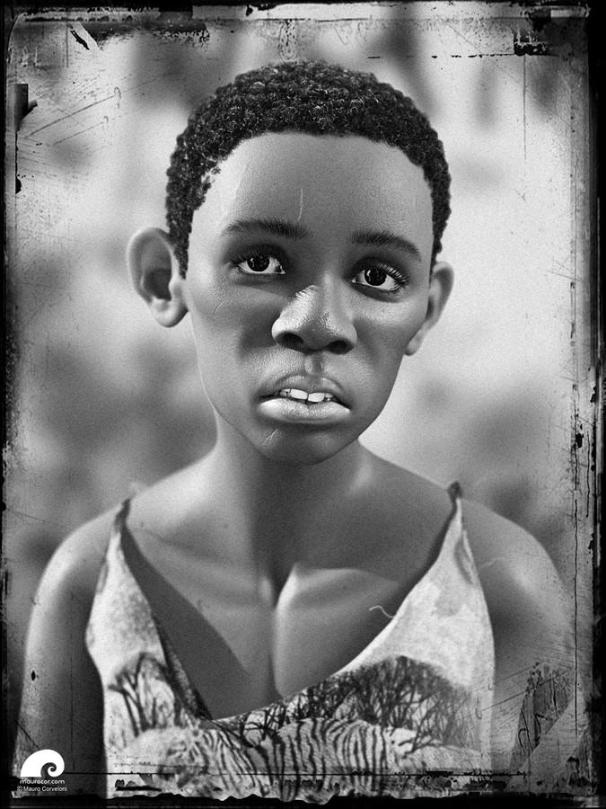 Mauro Corveloni - Child Portrait