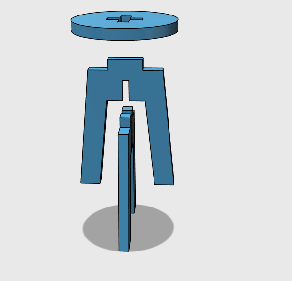 3d Design Project For Beginners A Stool Tutorial45