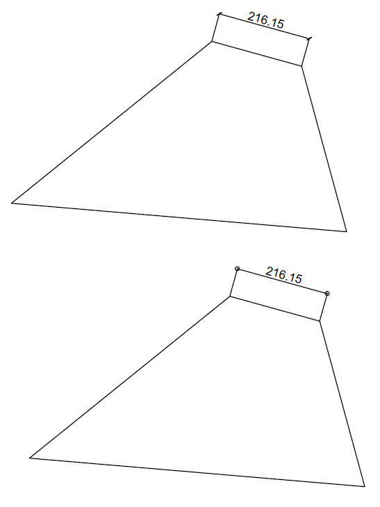 how to change dimension text height in sketchup