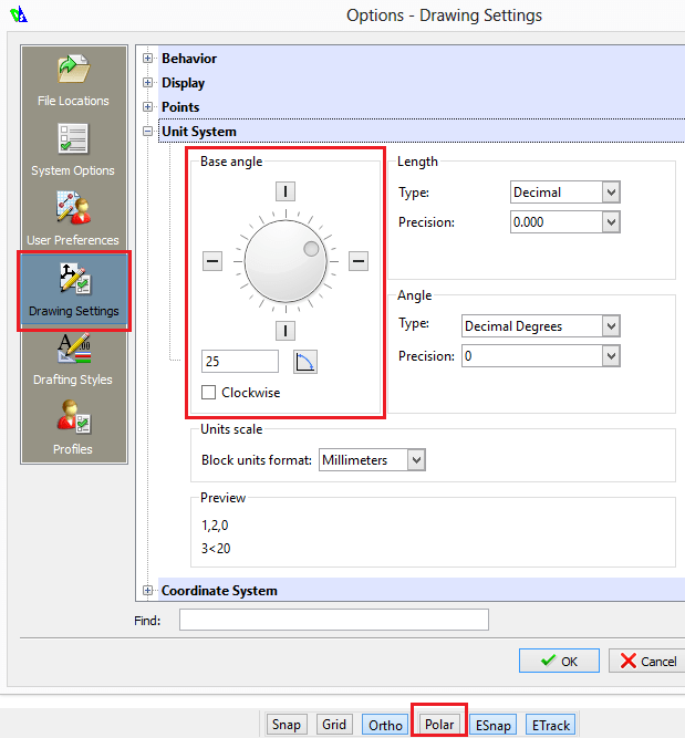 Drawing Angled Lines In Draftsight : Draftsight a simple cad program in steps tutorial