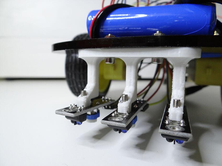 Arduino projects line follower robot tutorial