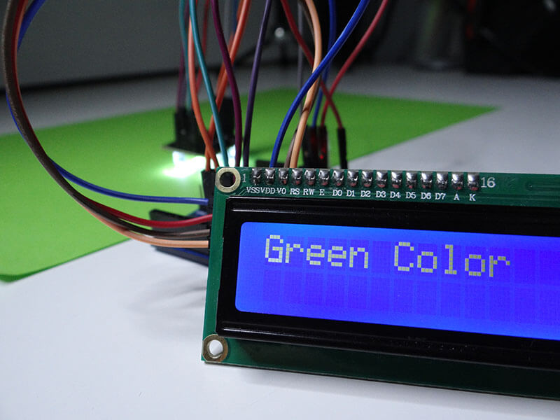 Arduino projects color sensor tutorial