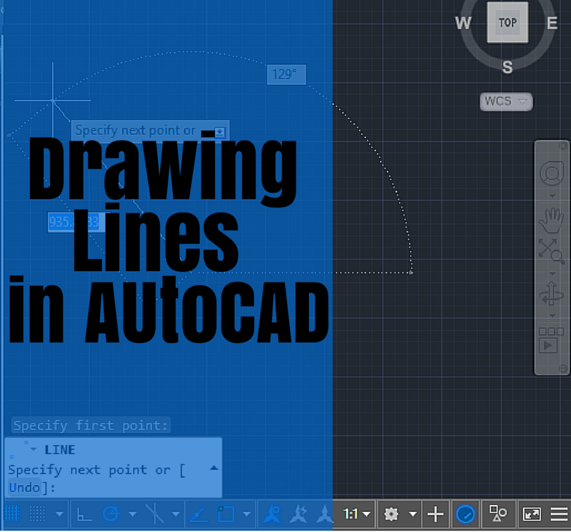 AutoCAD tutorial 03: Mastering the LINE command in AutoCAD