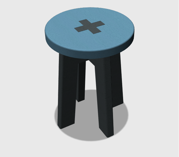 3D Design Project for Beginners – A Stool - Tutorial45