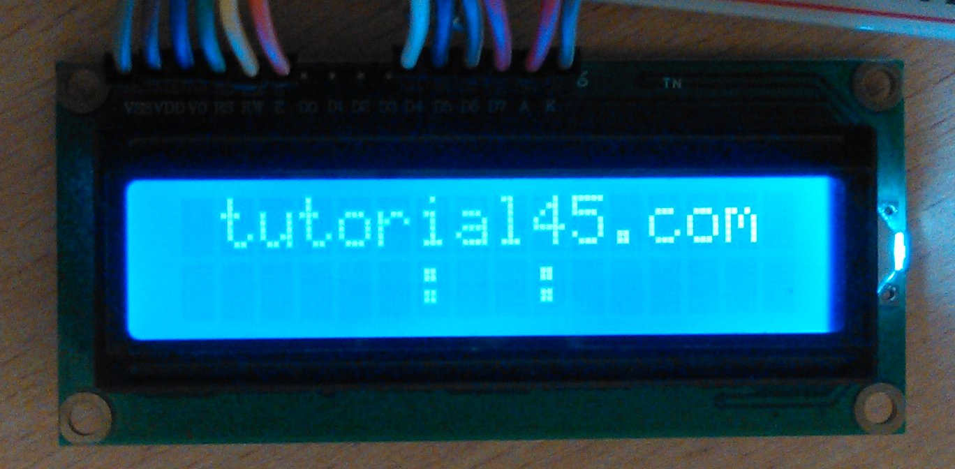 Arduino Projects Building An Countdown Timer Tutorial45 6 Hour Circuit Diagram