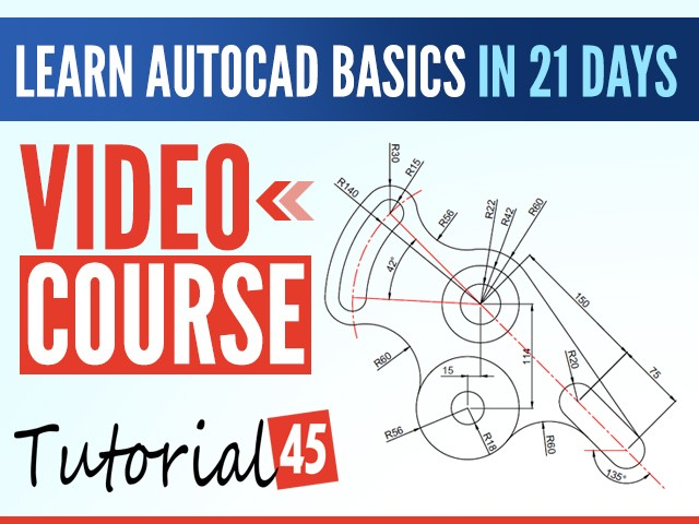 AutoCAD Command list - Tutorial45