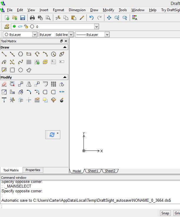Draftsight, A simple CAD Program in 10 Steps - Tutorial45