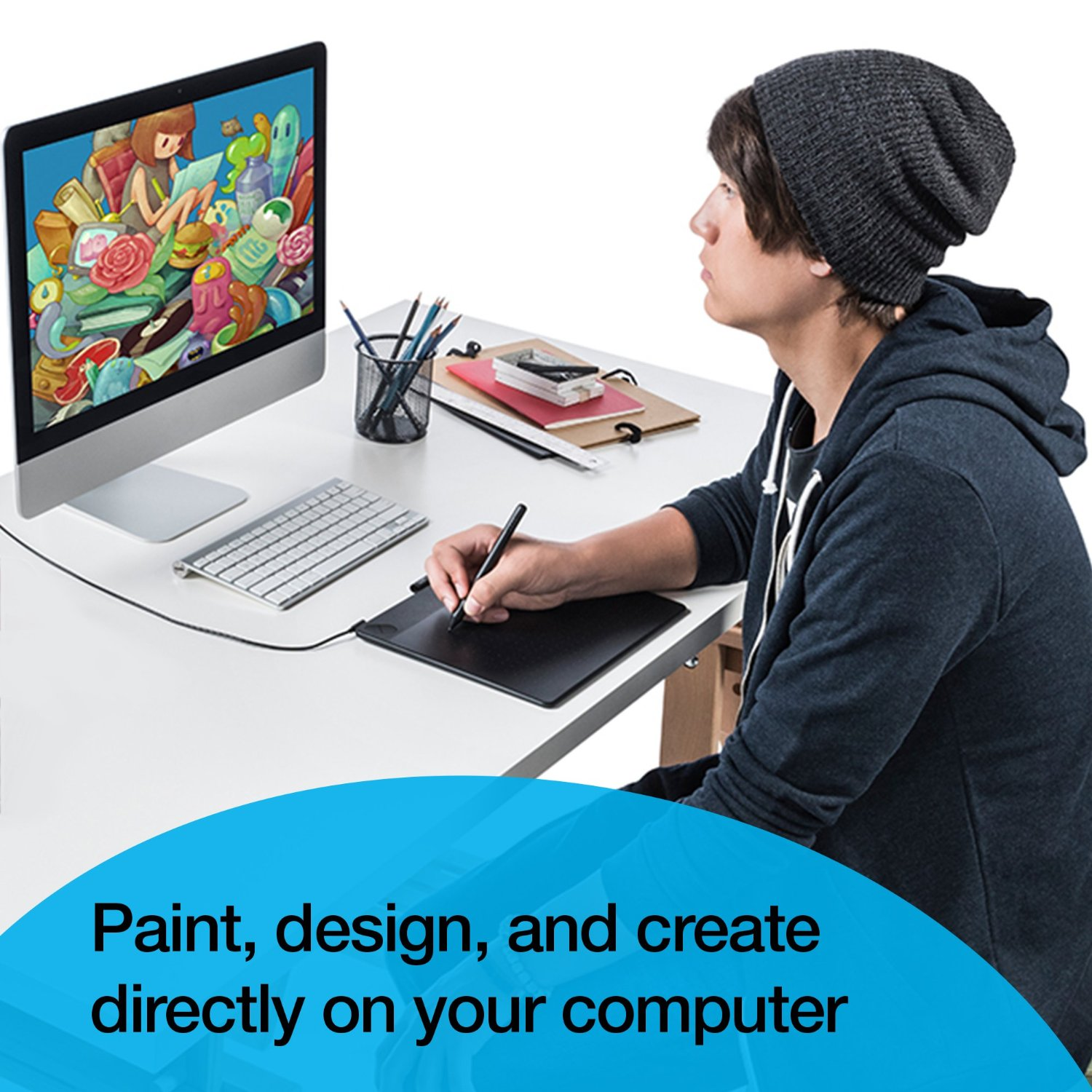 It is an image of Crush Drawing Tablet Tutorial