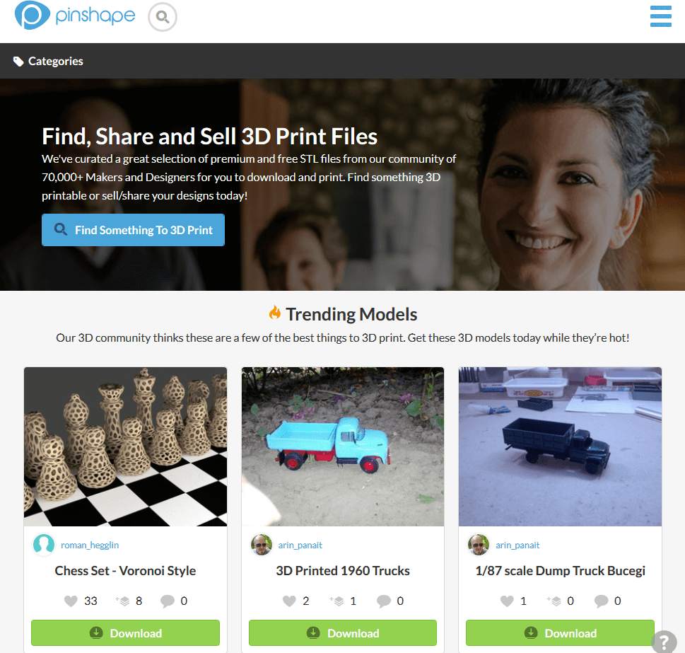 40 Websites You Can Access Free STL Files For Printing