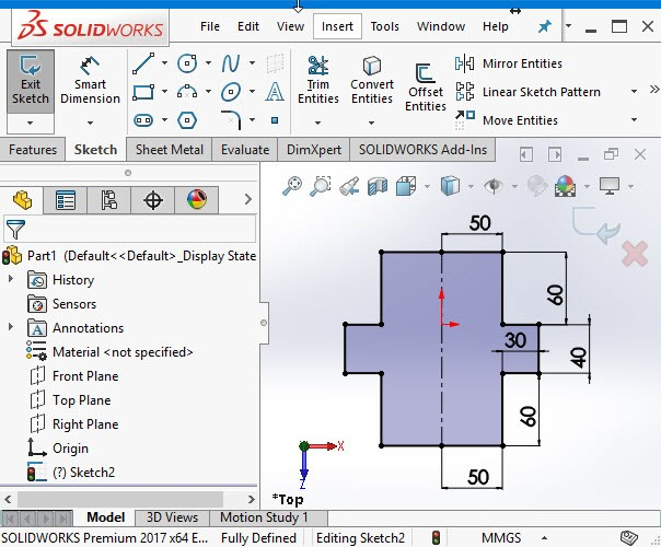 Solidworks Tutorial Sheet Metal Tutorial45