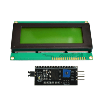 LCD front face